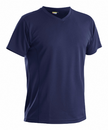 Blaklader 3323 Pique UV Protection T Shirt (Navy Blue)
